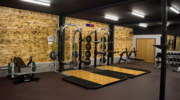 Strength and Conditioning Area